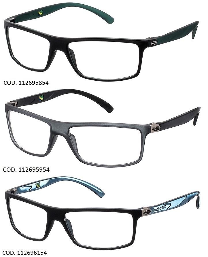 d19e2d66e714f Armação Para Oculos De Grau Mormaii Eclipse Full - Garantia - R  269 ...