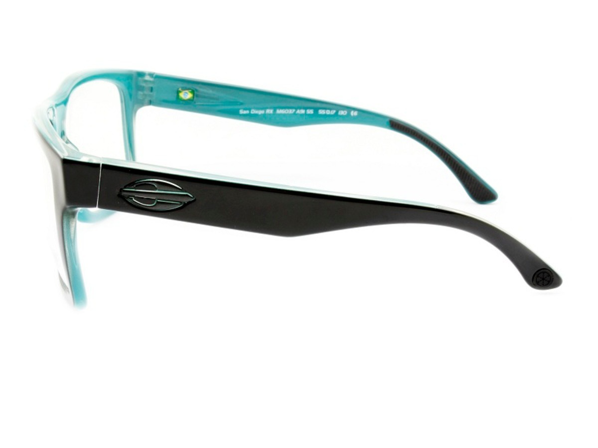 Armação Óculos De Grau Mormaii San Diego M6037 A91 - R  145,00 em ... 3a4d0093c5