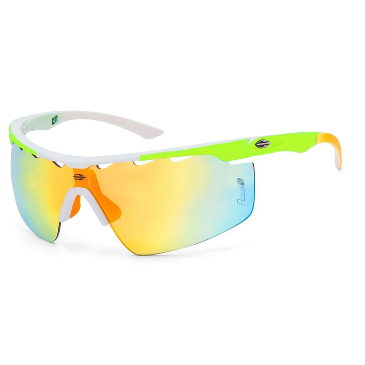 3a3c7e6dc óculos mormaii athlon 4 amarelo limão/ lente laranja degradê. Carregando  zoom.