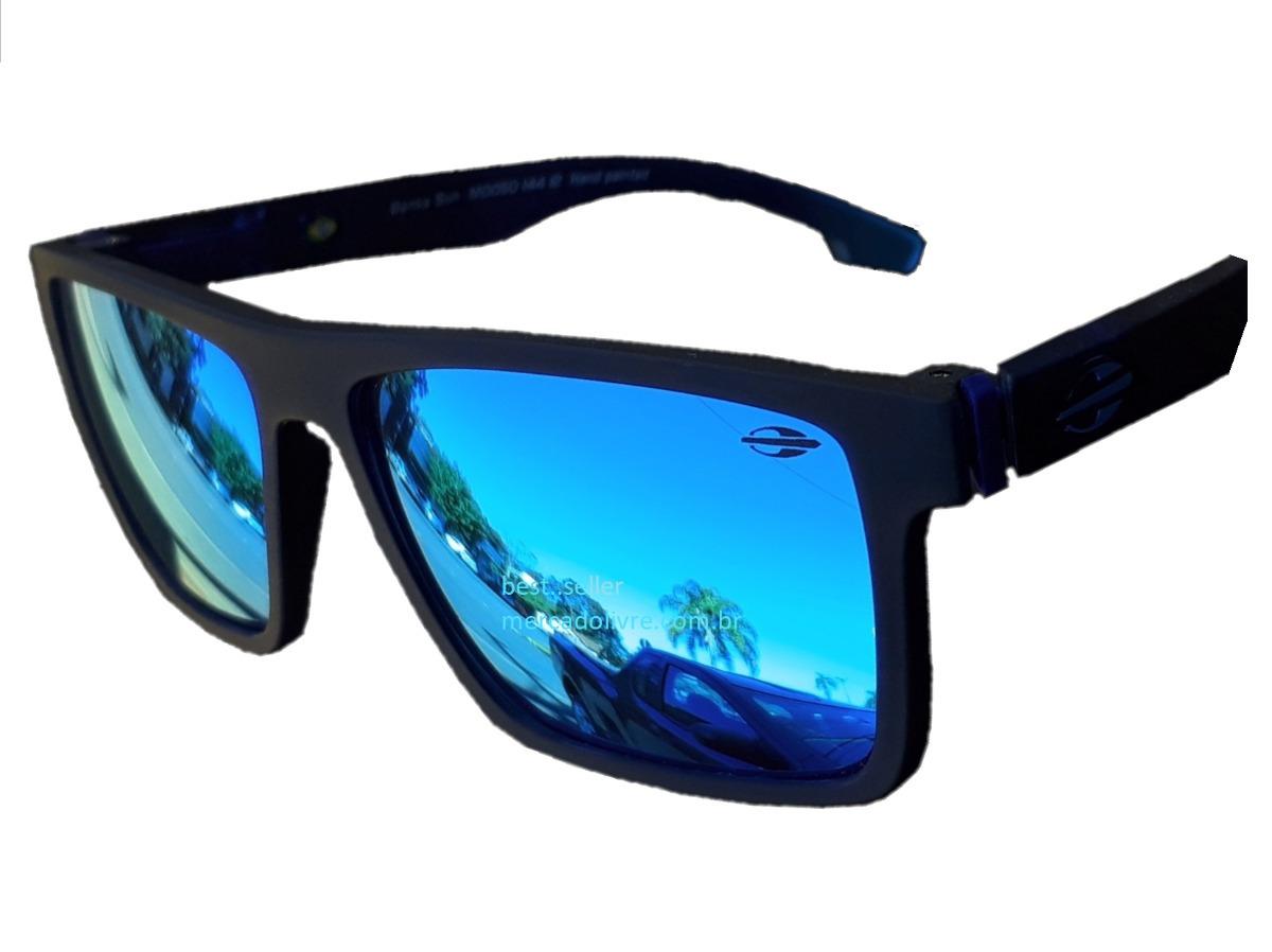 ed9254b7f4873 óculos mormaii banks espelhado azul escuro sol monterey. Carregando zoom.