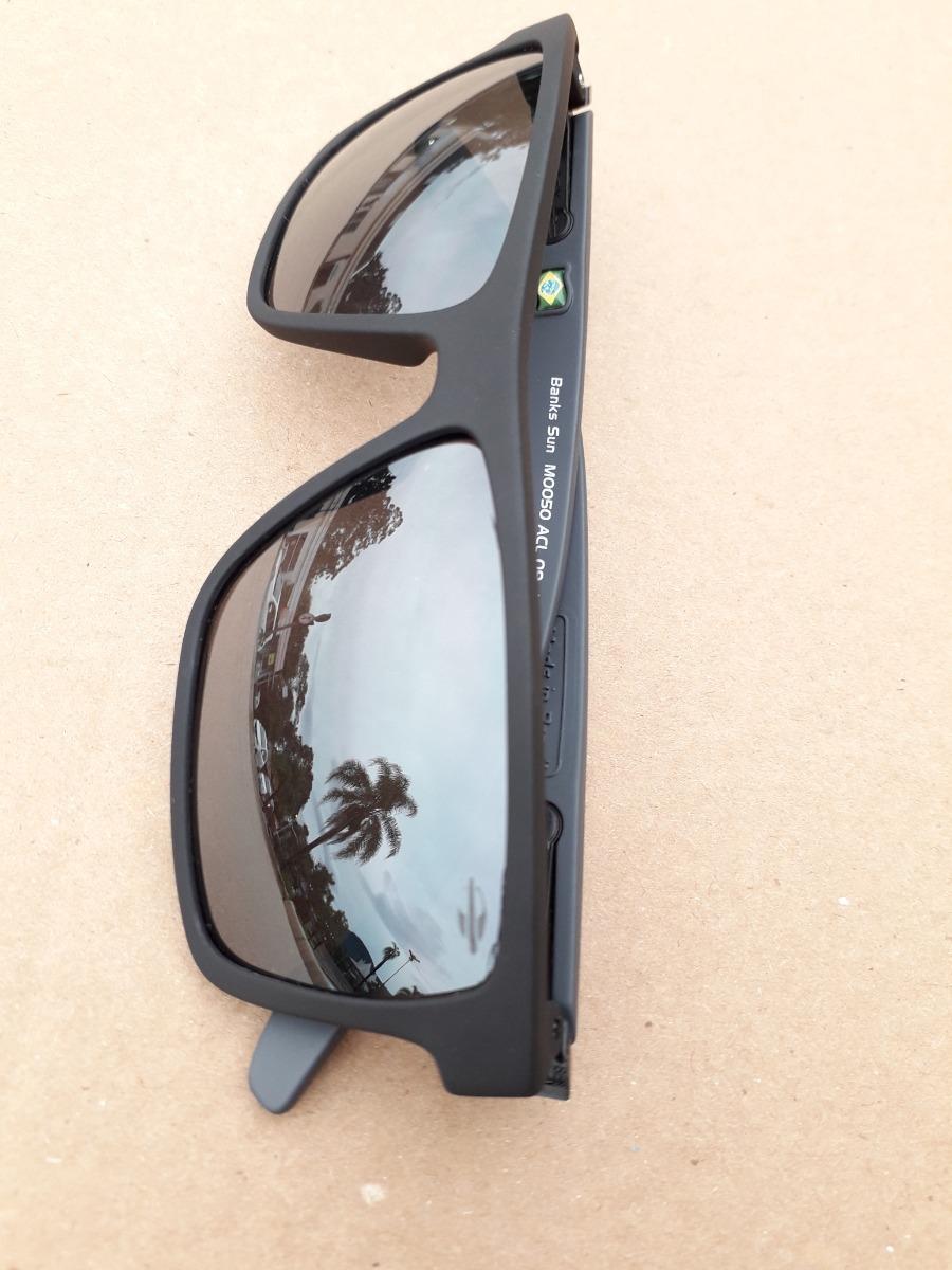 c887dcf99 óculos mormaii banks preto fosco flash prata sol monterey. Carregando zoom.