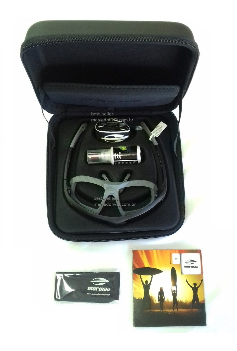 a8203dd70 Óculos Mormaii Floater Kit Polarizado Água Jetski Rio Mar - R$ 479 ...