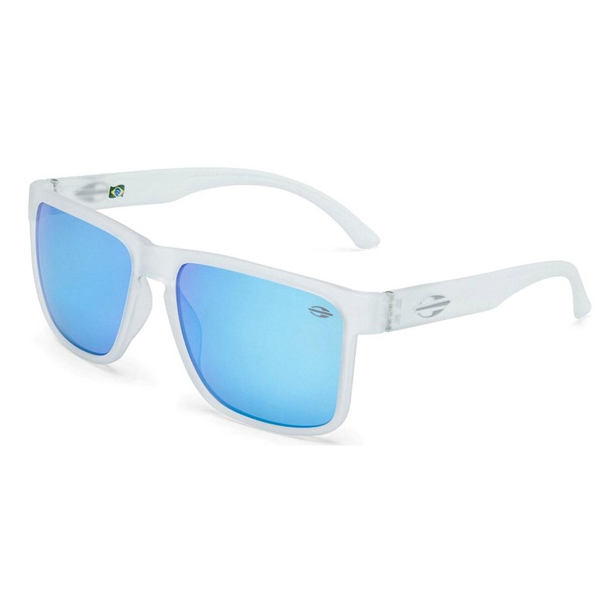 Óculos Mormaii Monterey Branco Fosco lente Azul - R  249,90 em ... fdbc550472