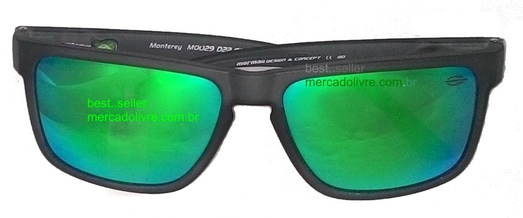 óculos mormaii monterey chumbo fosco verde solar espelhado. Carregando zoom. 864bf5c9f3