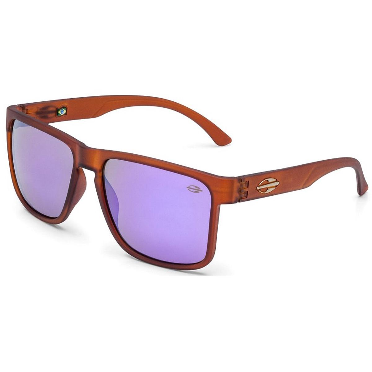 Óculos Mormaii Monterey Marrom Translucido lente Violeta - R  229,90 ... c868396080