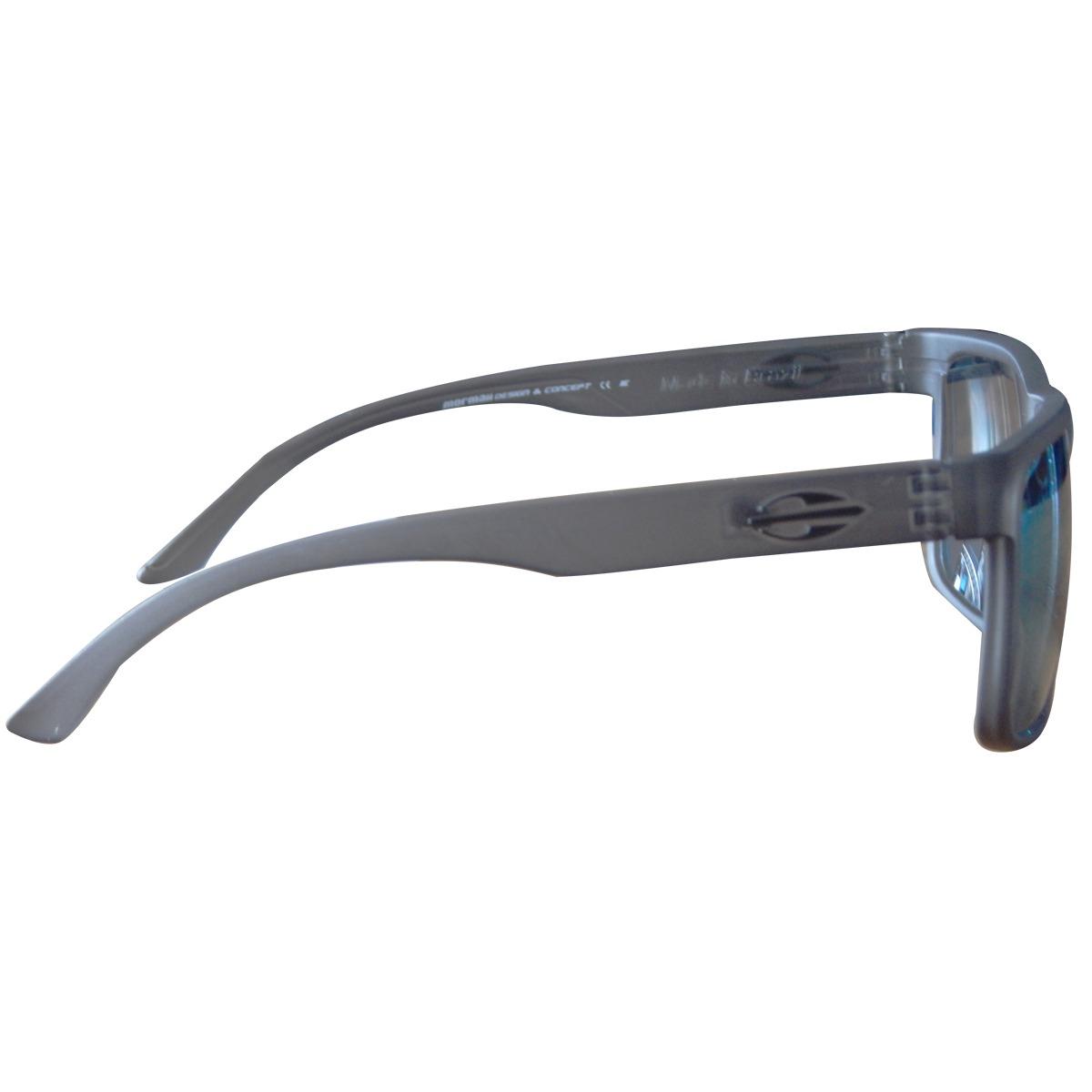 3ab8bb0940cc1 Óculos Mormaii Monterey Preto Fume Fosco  Lente Verde - R  249,90 em ...