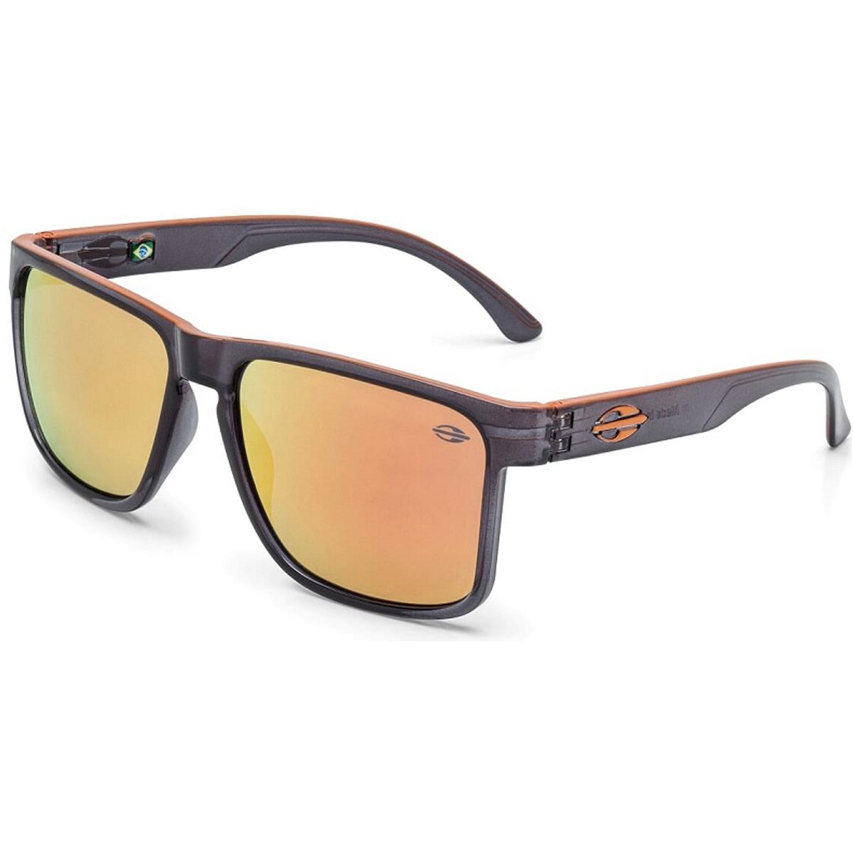 4faccc0770dd9 Óculos Mormaii Monterey Preto Fume lente Laranja - R  249,90 em ...