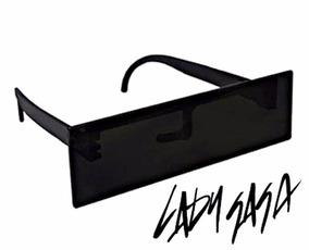 692e36d4f Óculos Mosaico Escuros Modelo Lady Gaga Futurista Artpop