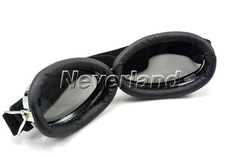 214eeb78460c3 óculos moto estilo aviador retro goggles lentes cor camaleão. Carregando  zoom.