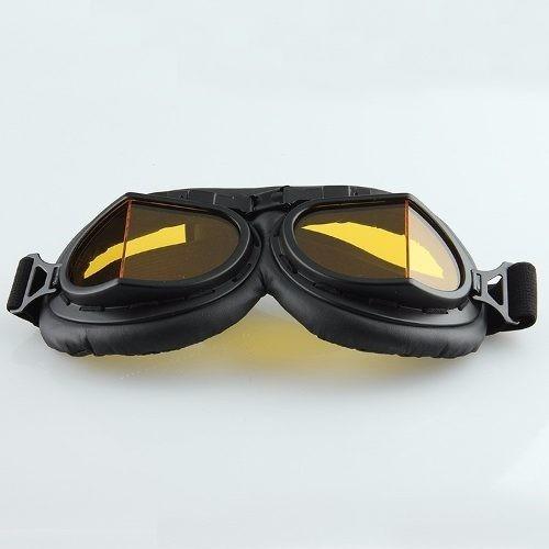 Oculos Motociclista Aviador Cafe Race Custom Harley Davidsom - R ... b0e966e740
