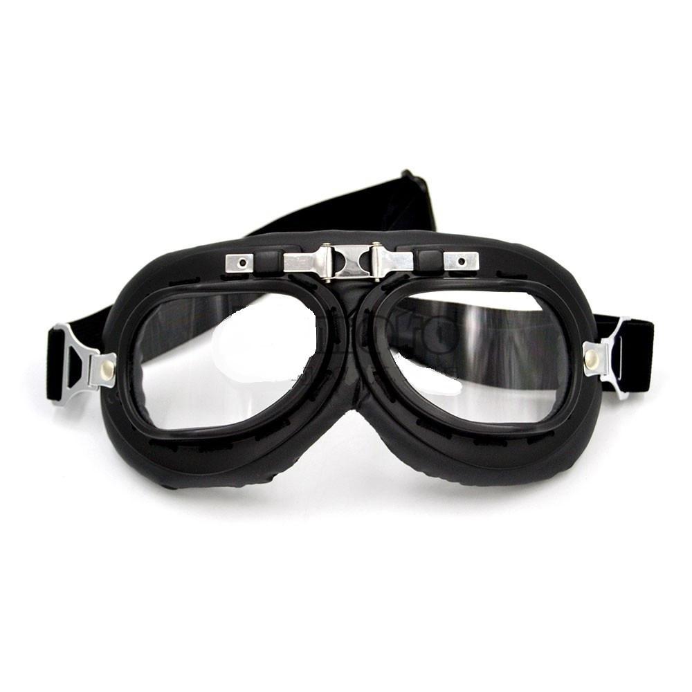 6e20c79515cbe oculos motociclista aviador preto estilo harley retro piloto. Carregando  zoom.