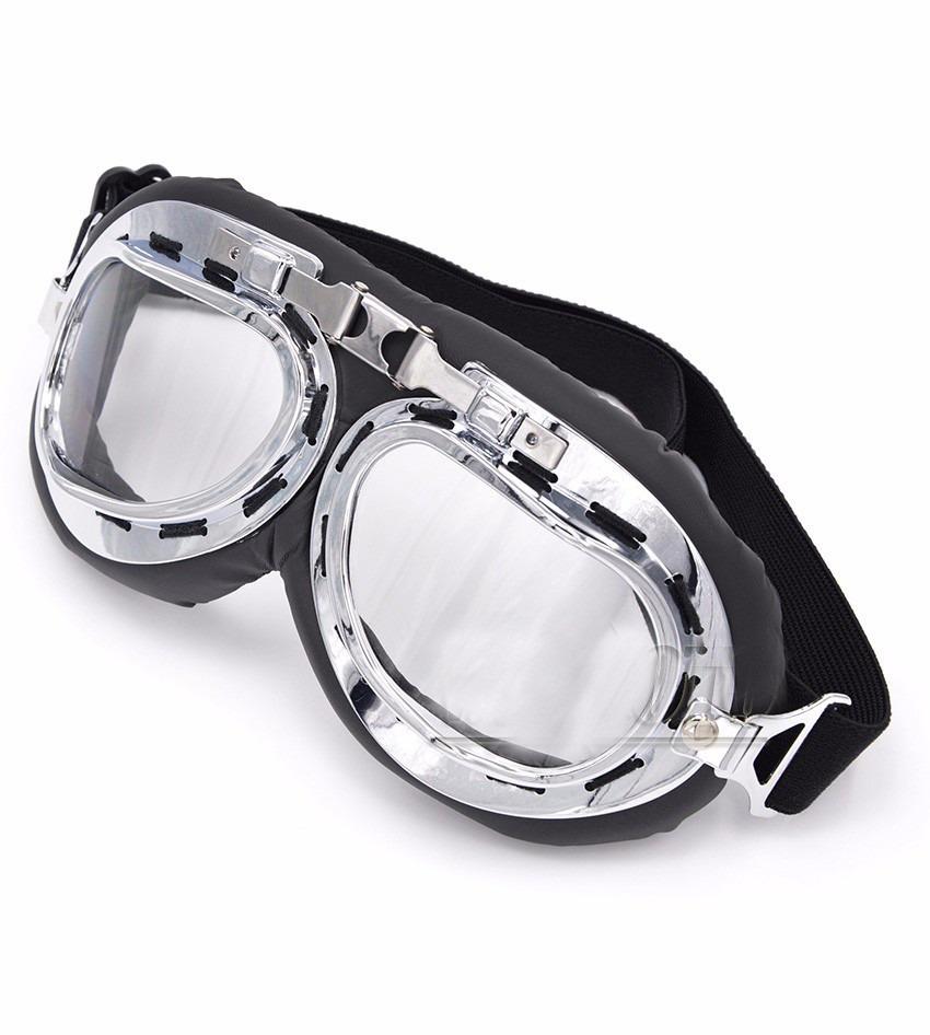 b4cecdba3 oculos motociclista aviador transp capacete aberto retro. Carregando zoom.