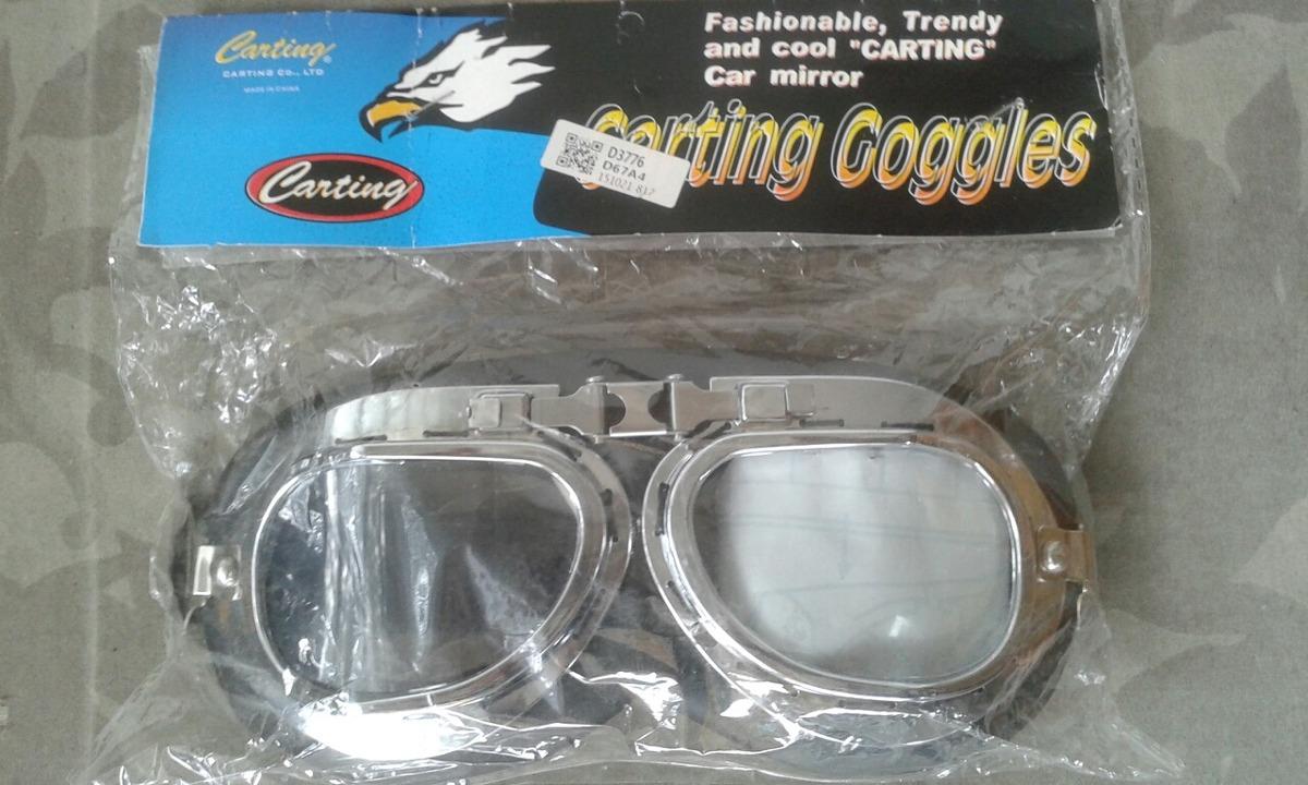 78a11c992 Óculos Motociclista Aviador Vintage - R$ 45,90 em Mercado Livre