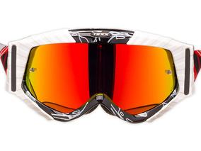 10c0c263e Óculos Motocross Texx Raider Mx Lente Iridium Trilha Estrada