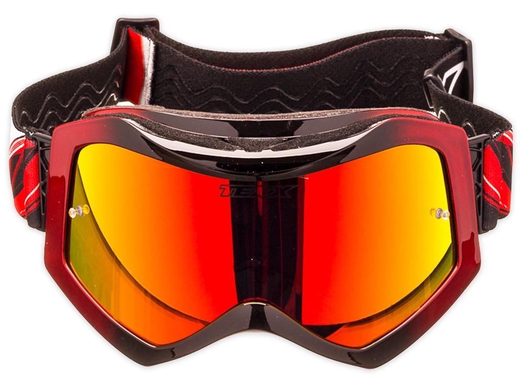 12120431e0a9f Óculos Motocross Texx Raider Pro Lente Iridium Espelhada - R  177
