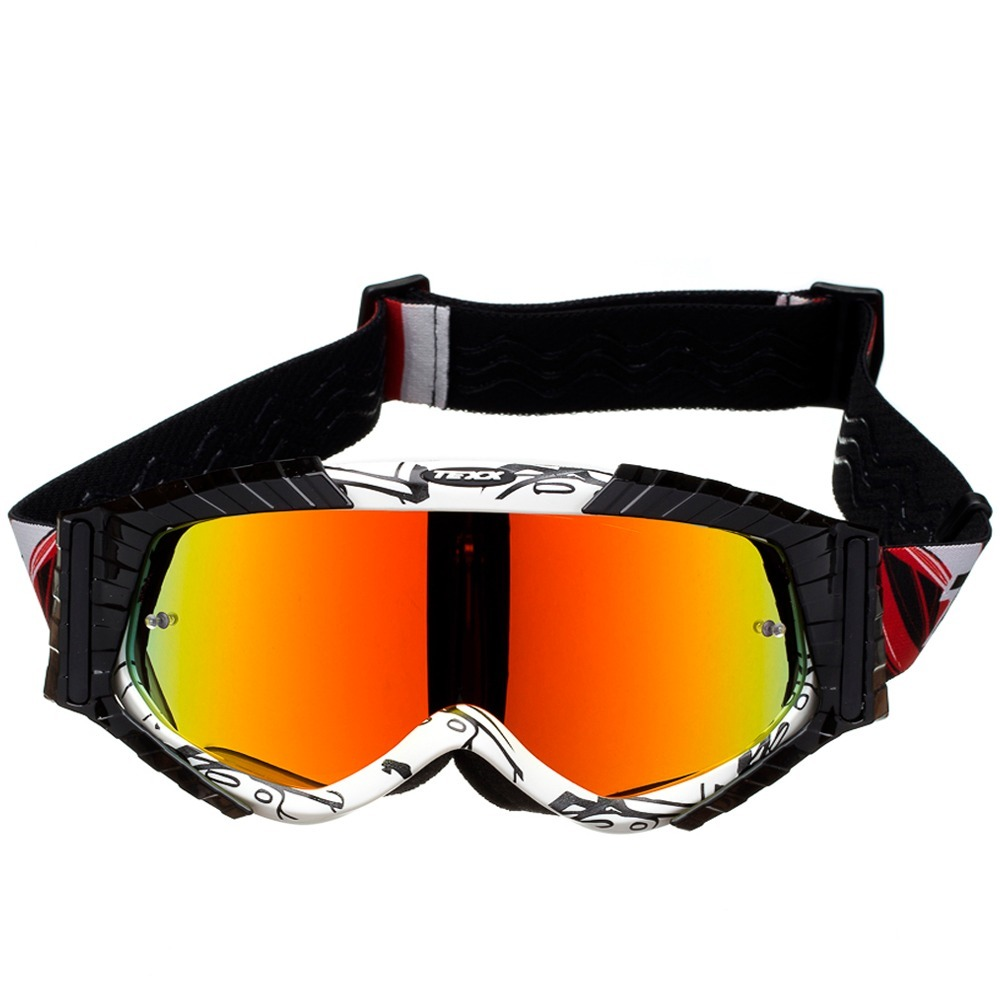 296ceb92a8ba5 oculos motocross trilha enduro off texx raider mx branco. Carregando zoom.
