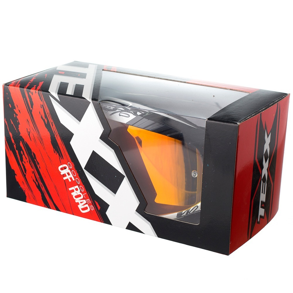 f88259c66ecca Oculos Motocross Trilha Enduro Off Texx Raider Mx Preto - R  181