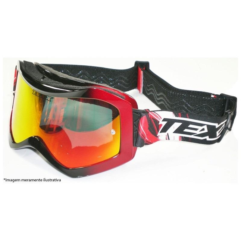 oculos motocross trilha raider pro metalico lente iridium. Carregando zoom. b7e5ea6e7a