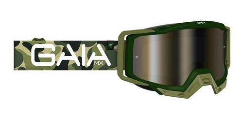 oculos motocross trilha velocross gaia mx pro army 2020