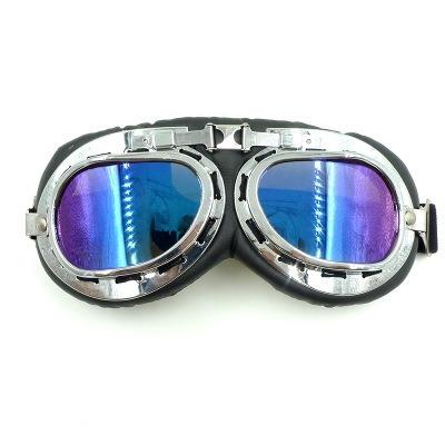 f0d583eb2bc1e Carregando zoom... óculos motoqueiro scooter retro aviador pilot  motociclista