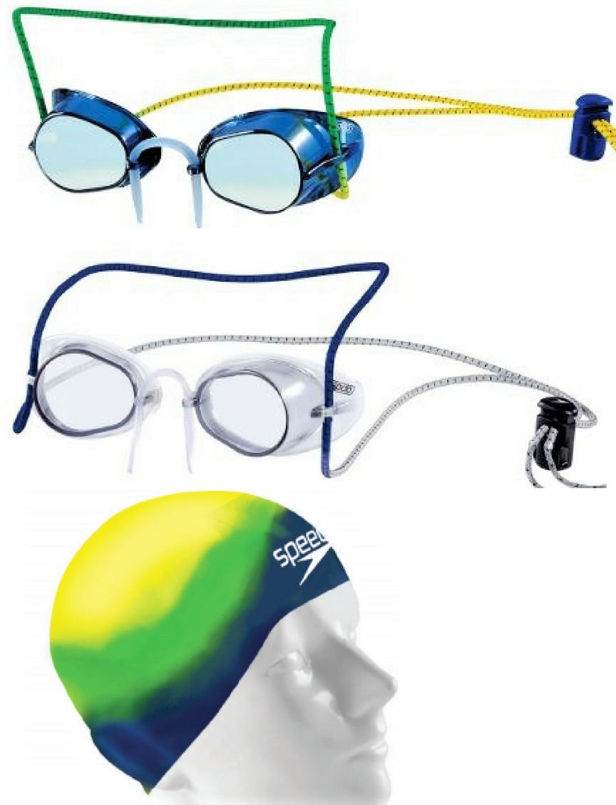 Oculos Natacao Competicao Speedo Sueco Touca Aquafast Brinde - R ... ca513273434