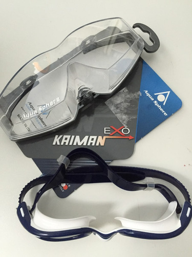8890db8fb Óculos Para Natação Aqua Sphere Exo Kaiman - Italiano - R  199