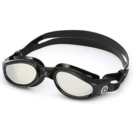 c3e16867e óculos natação kaiman aqua sphere preto c  lente espelhada. Carregando zoom...  óculos natação aqua