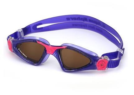 óculos natação aqua sphere kayenne lady roxo rosa polarizado
