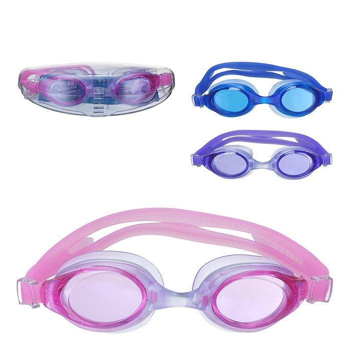 Óculos Natação Juvenil Com Estojo Várias Cores - R  19 356d6c898e48a