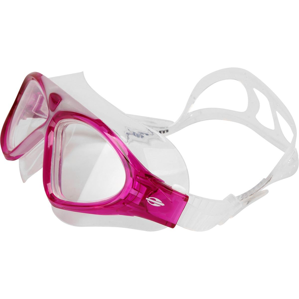 Oculos Natação Mormaii Orbit Rosa Lentes Transparentes - R  79,00 em ... 55bbaf4cce