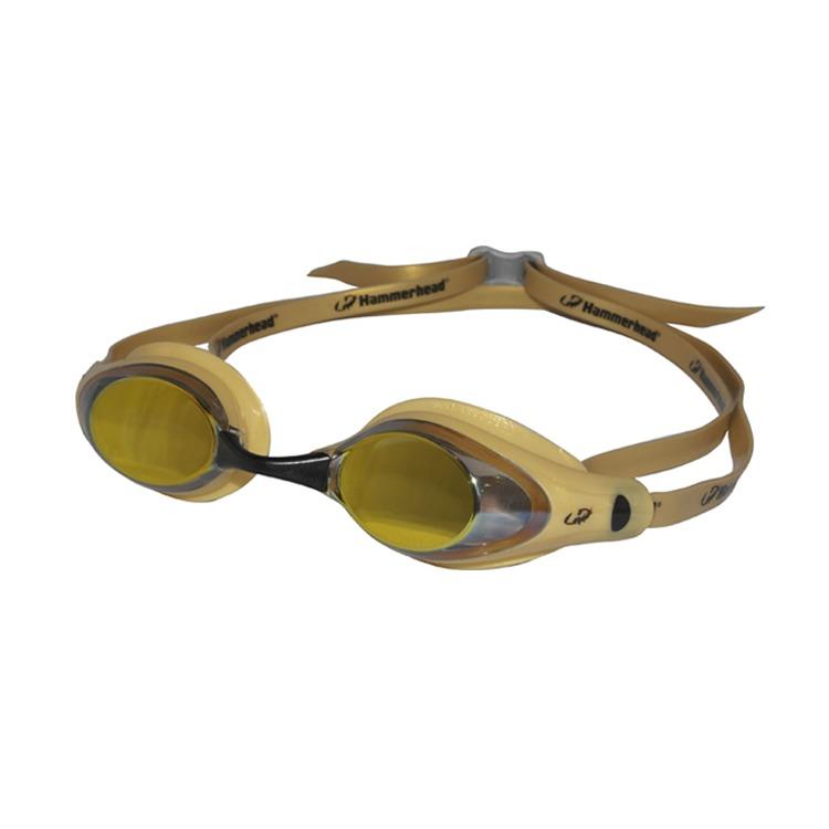 d733c30d75abd Óculos Natação Racer Pro Mirror Hammerhead   Dourado - R  72,90 em ...