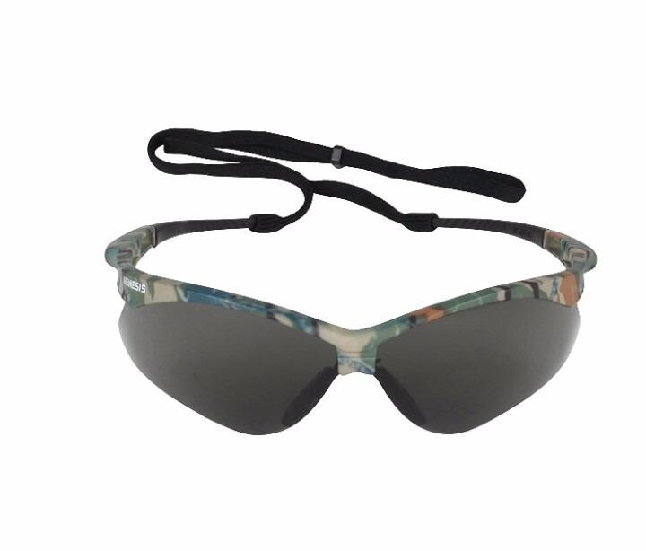 ff98214d7635b Óculos Nemesis Camuflado Fumê (jackson Safety)99,9% Uv - R  45,00 em ...