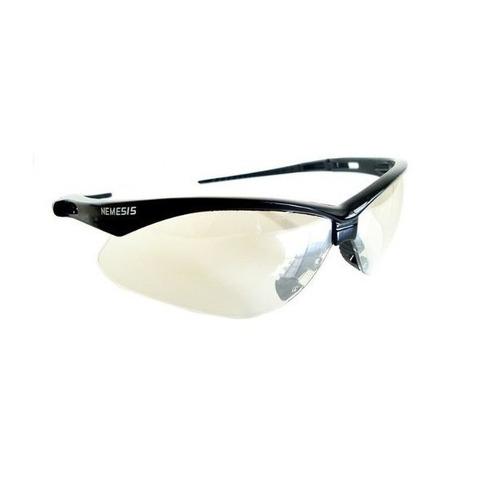oculos nemesis jackson armacao preta lente in-out ca uv un