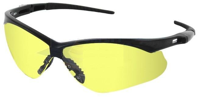 ab61c7a402dee Oculos Nemesis Jackson Armação Preta Lente Amarela Noturno - R  66 ...