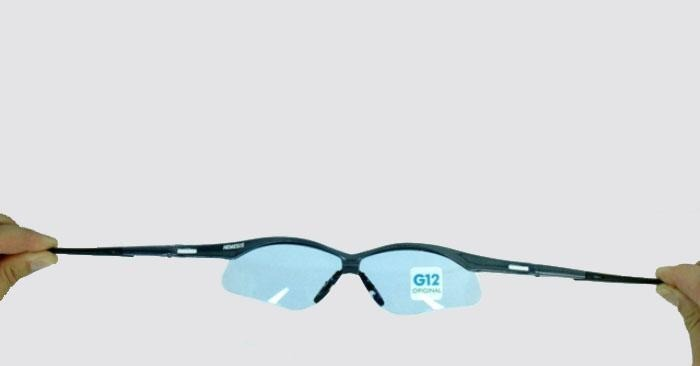 11335af9c6b92 Óculos Nemesis Jackson Armação Preta Lente Azul Claro Uv - R  48,90 ...