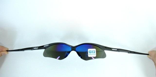 20b40cc864368 Óculos Nemesis Jackson Armação Preta Lente Azul Espelhado Uv - R  49 ...