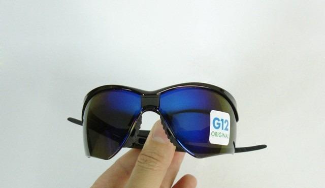 9328586cbdaba Óculos Nemesis Jackson Armação Preta Lente Azul Espelhado Uv - R  49 ...