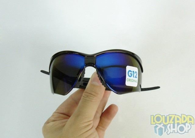 Oculos Nemesis Jackson G12 Flexivel Preto Lente Azul Fume - R  44,00 ... ba2ce8e284
