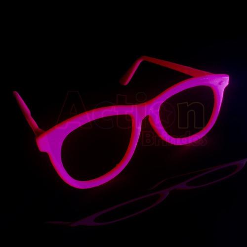óculos neon nerd - kit 10 unidades