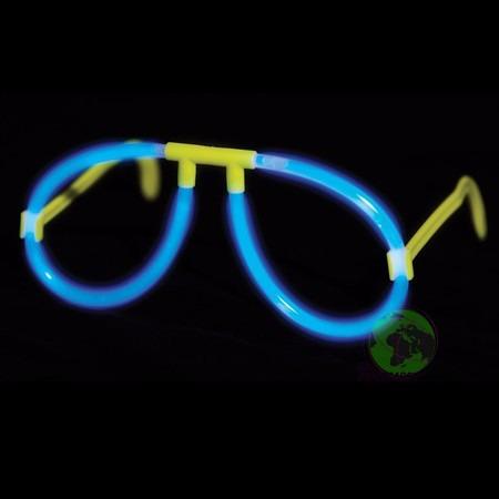 b3056b94e Óculos Nerd C/10 Unidades Brilha No Escuro P/ Festas Baladas - R$ 35 ...