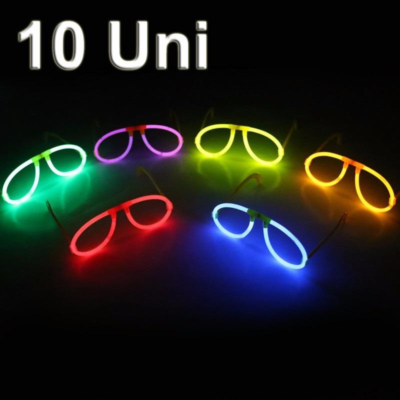 16bb7e61c óculos nerd c/10 unidades brilha no escuro p/ festas baladas. Carregando  zoom.