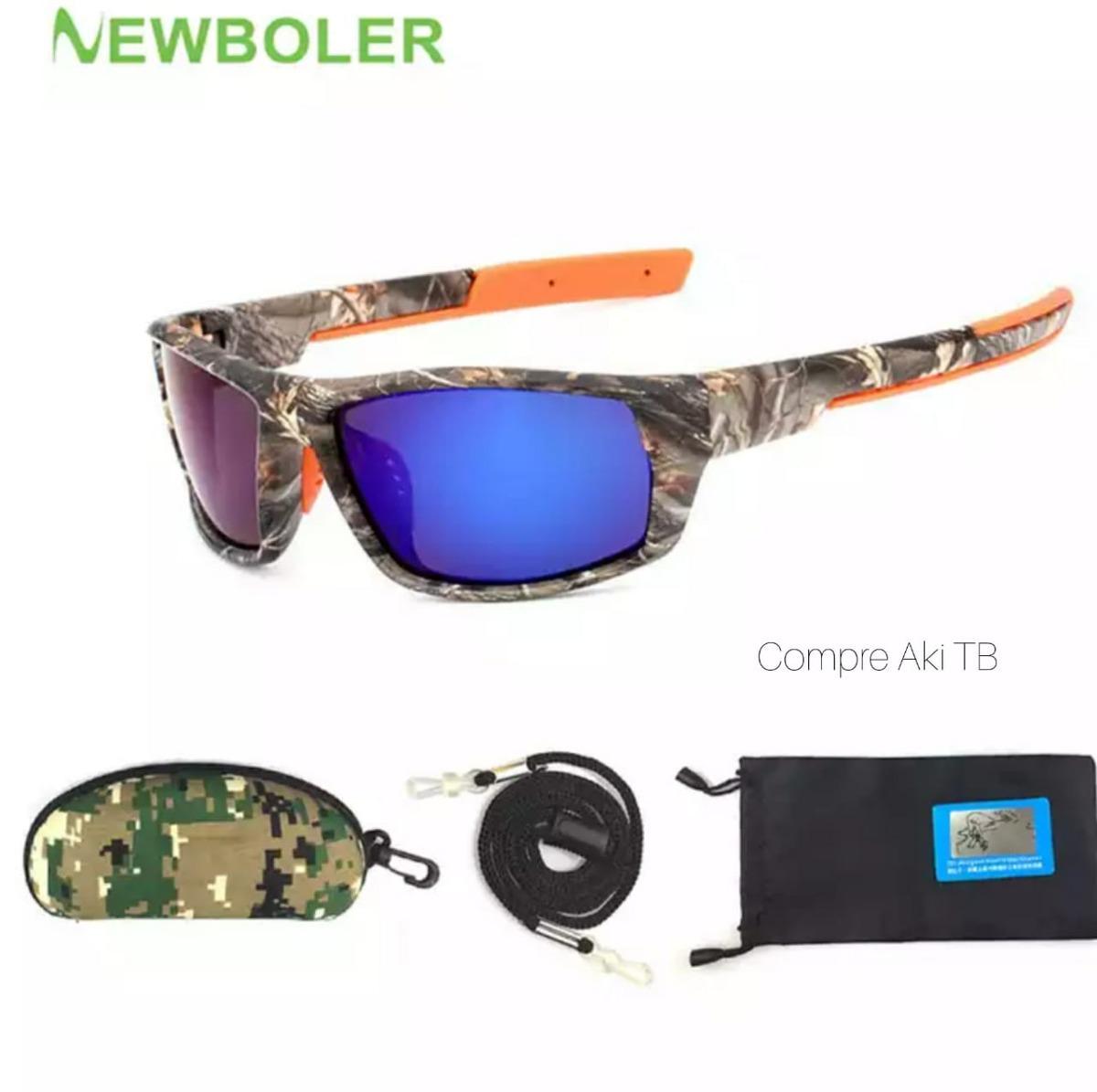 663c5c20e9c45 óculos newboler pesca camuflado polarizado ant-reflexo uv. Carregando zoom.