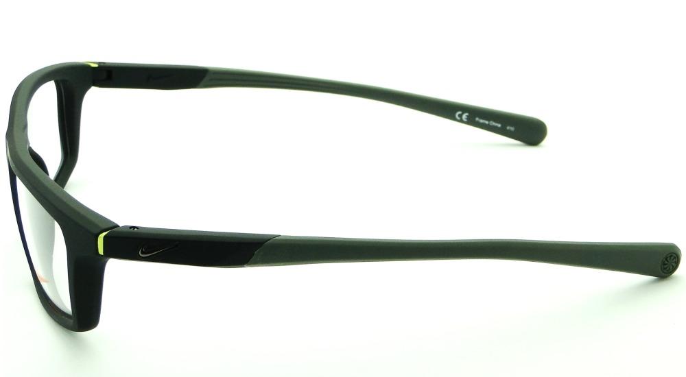 ff0dac8cd6fdb Carregando zoom... armação para óculos de grau nike 7085 masculina esporte