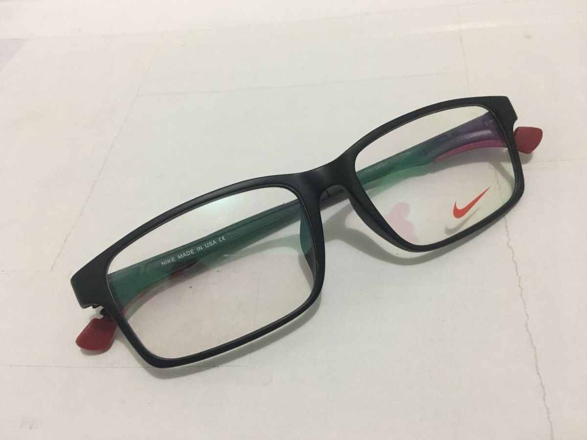 976da4342 oculos nike vermelho armação de grau com haste ajuste -nk102. Carregando  zoom.