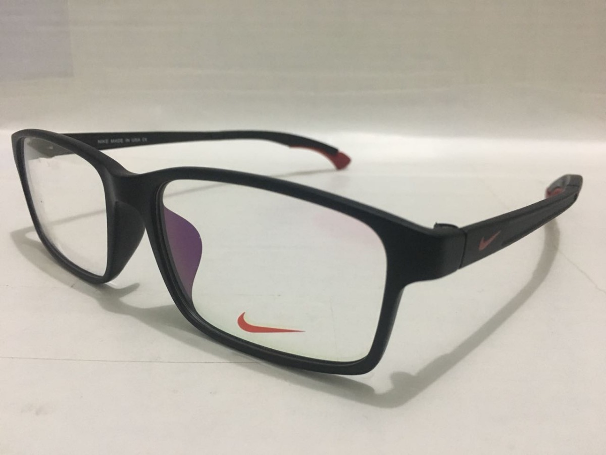 a42b40e67 oculos nike vermelho para grau com hastes ajustaveis -nk102. Carregando  zoom.