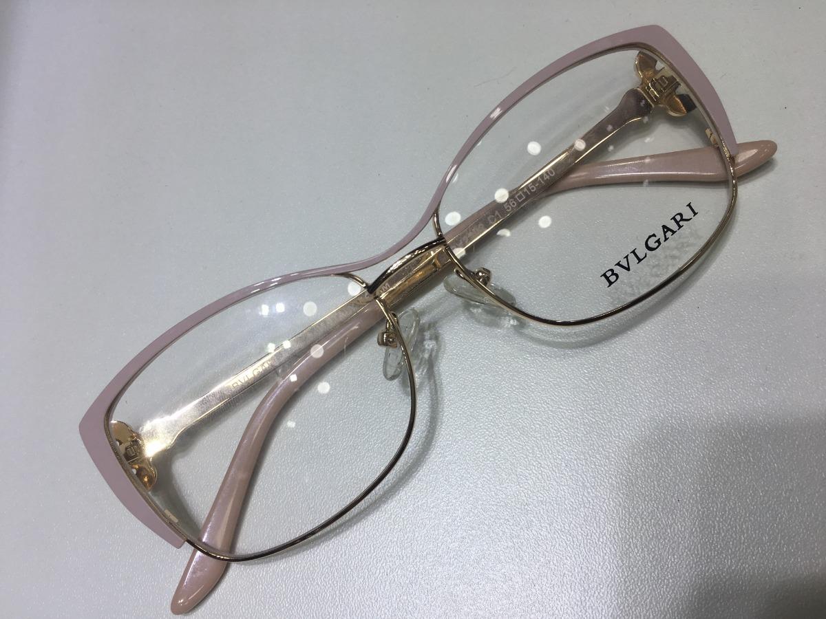 oculos nude para grau bvlgari modelo gatinho feminino -bv102. Carregando  zoom. 4c771735f4
