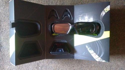 óculos nvidia geforce 3d vision acrílico com receptor