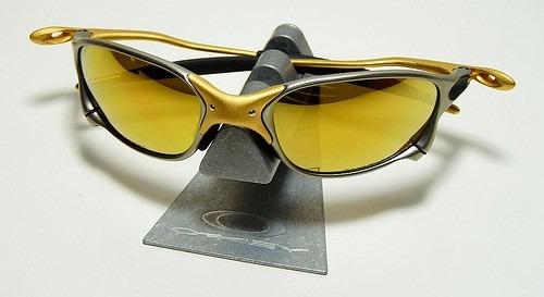 7f3340f2f Oculos Oak Juliet 24k X Metal Cinza E Dourado Frete Gratis - R$ 197 ...