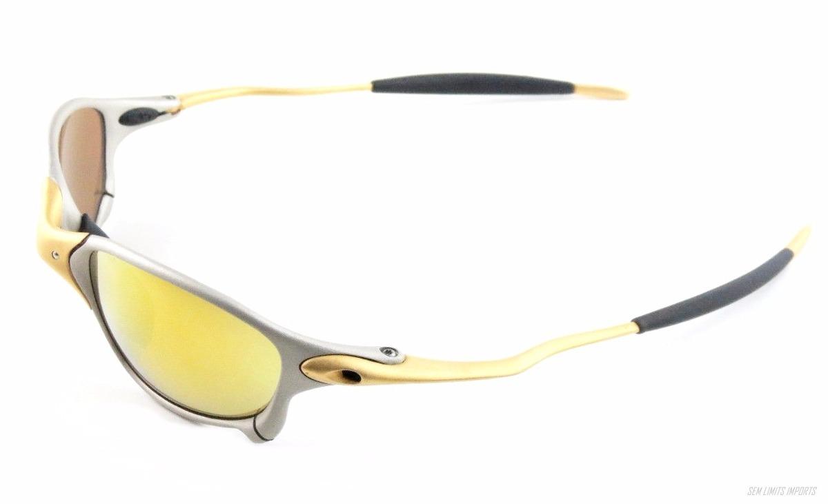 f63ab1b802d41 Oculos Oakley 24k Double X Xx Oferta Frete Gratis + Brinde - R ...