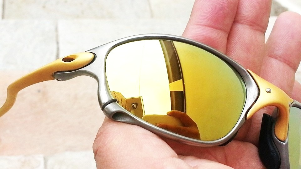 c4c0586cf4ae2 oculos oakley 24k double xx 24k gold frete gratis oferta. Carregando zoom.